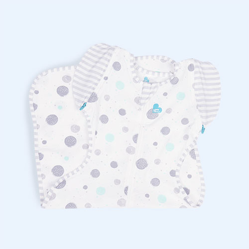 Circles Love To Dream Swaddle Up 50/50 Transitional Bag Lite 0.2 Tog