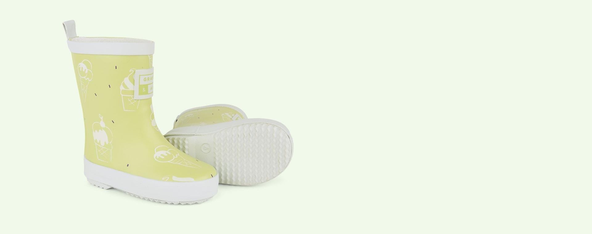 Lime Grass & Air UV Colour Revealing Wellies
