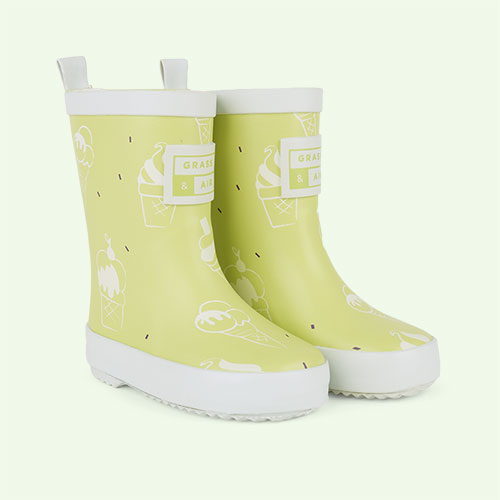 Lime Grass & Air UV Colour Revealing Wellies