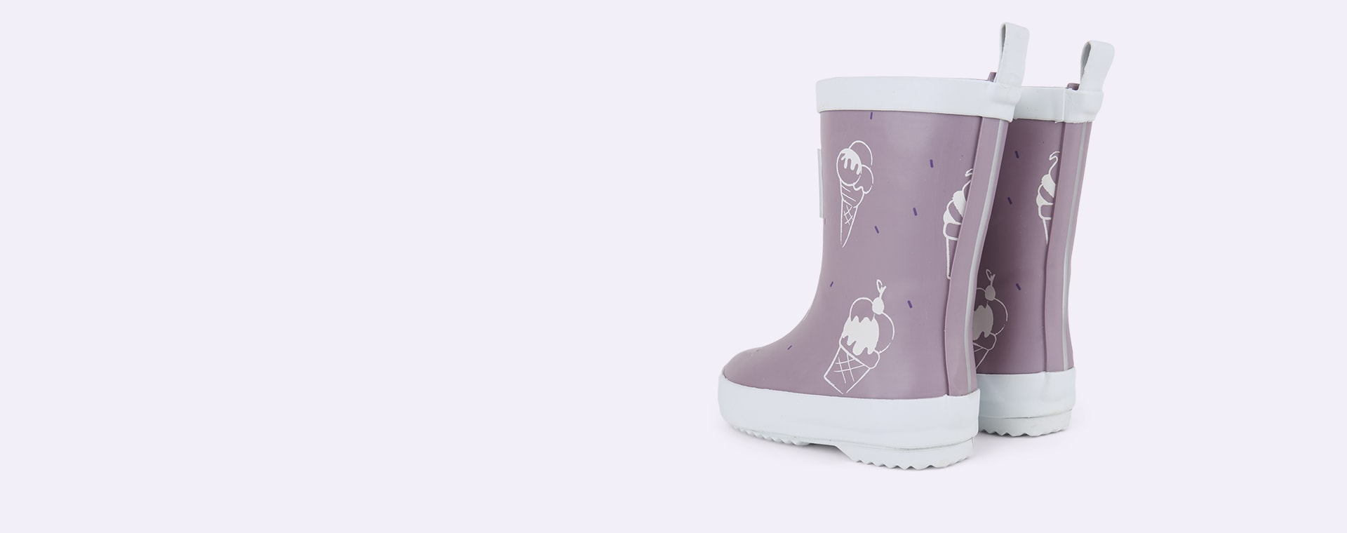 Ultra Violet Grass & Air UV Colour Revealing Wellies