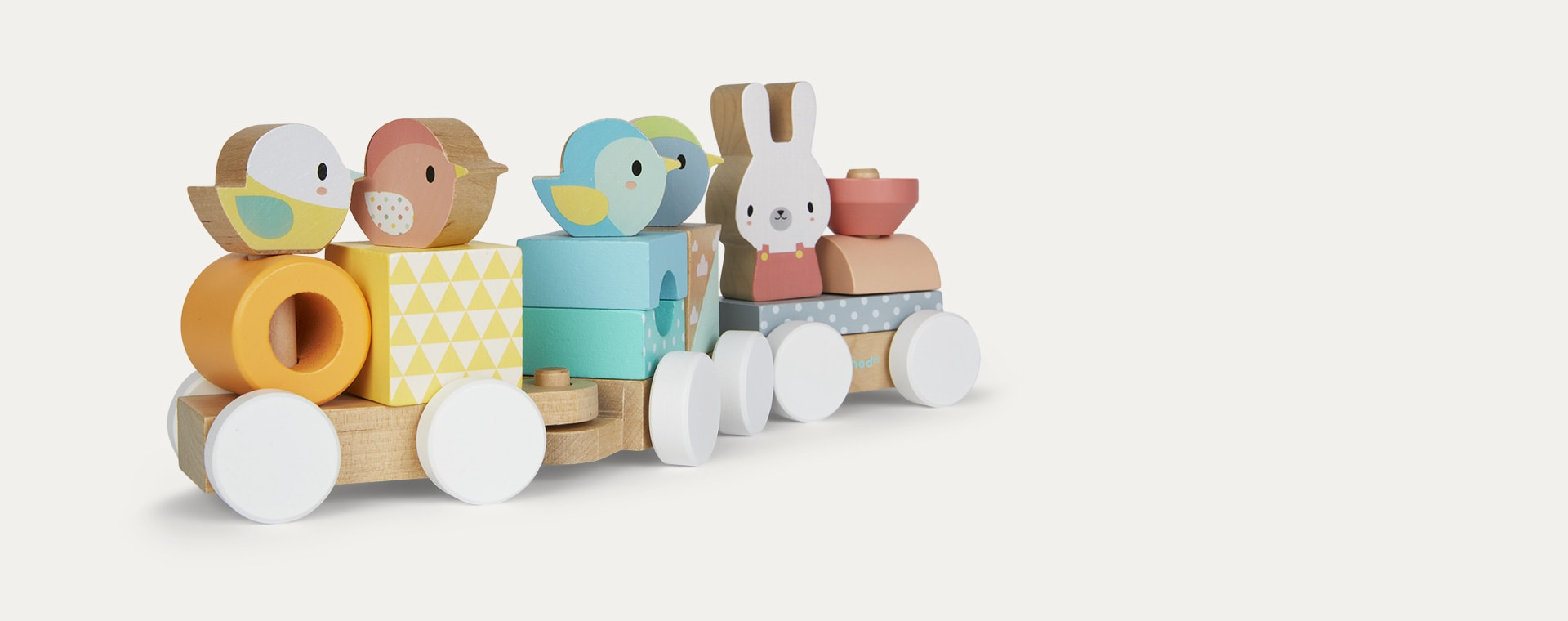 Multi Janod Pure Wooden Train