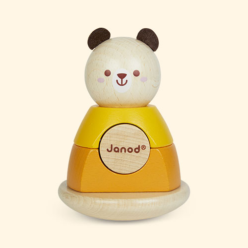 Bear Janod Animal Stacker And Rocker