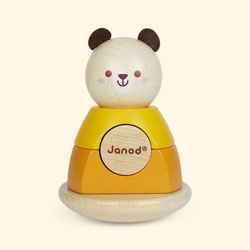 Bear Janod Animal Stacker And Rocker