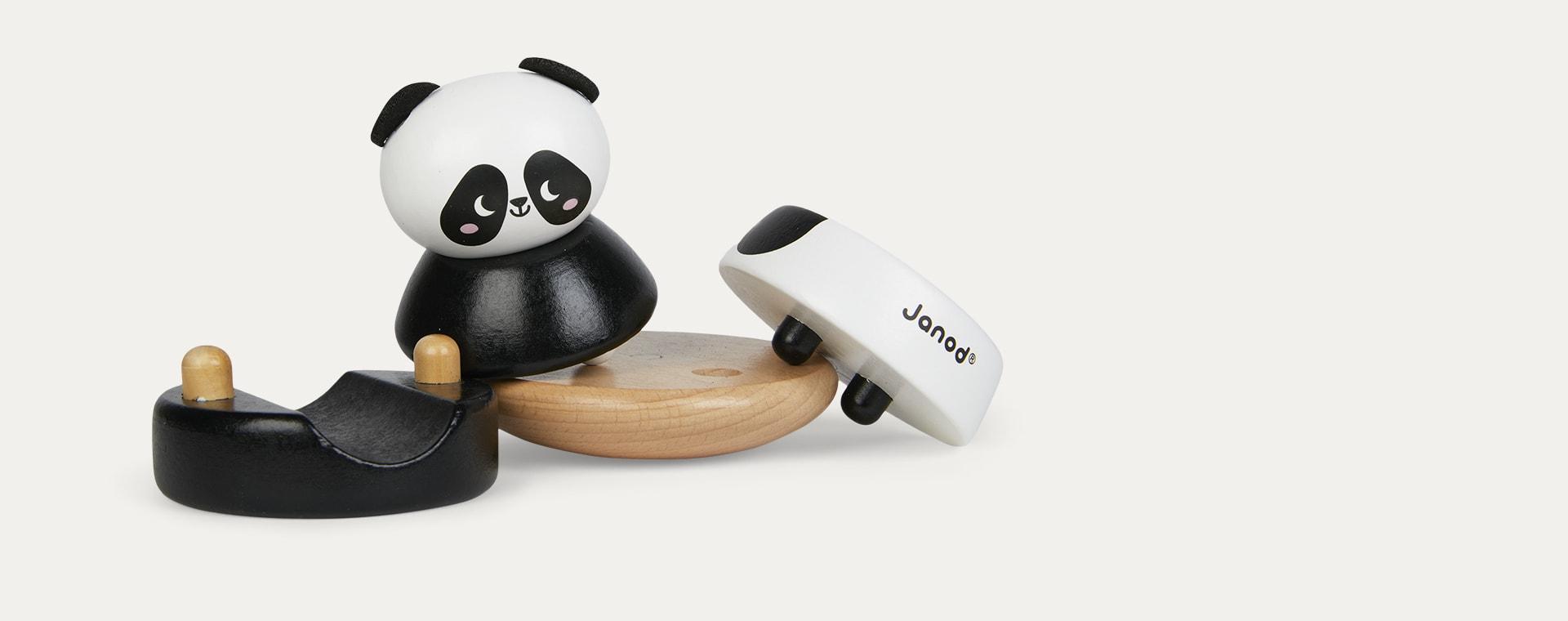 Panda Janod Animal Stacker And Rocker