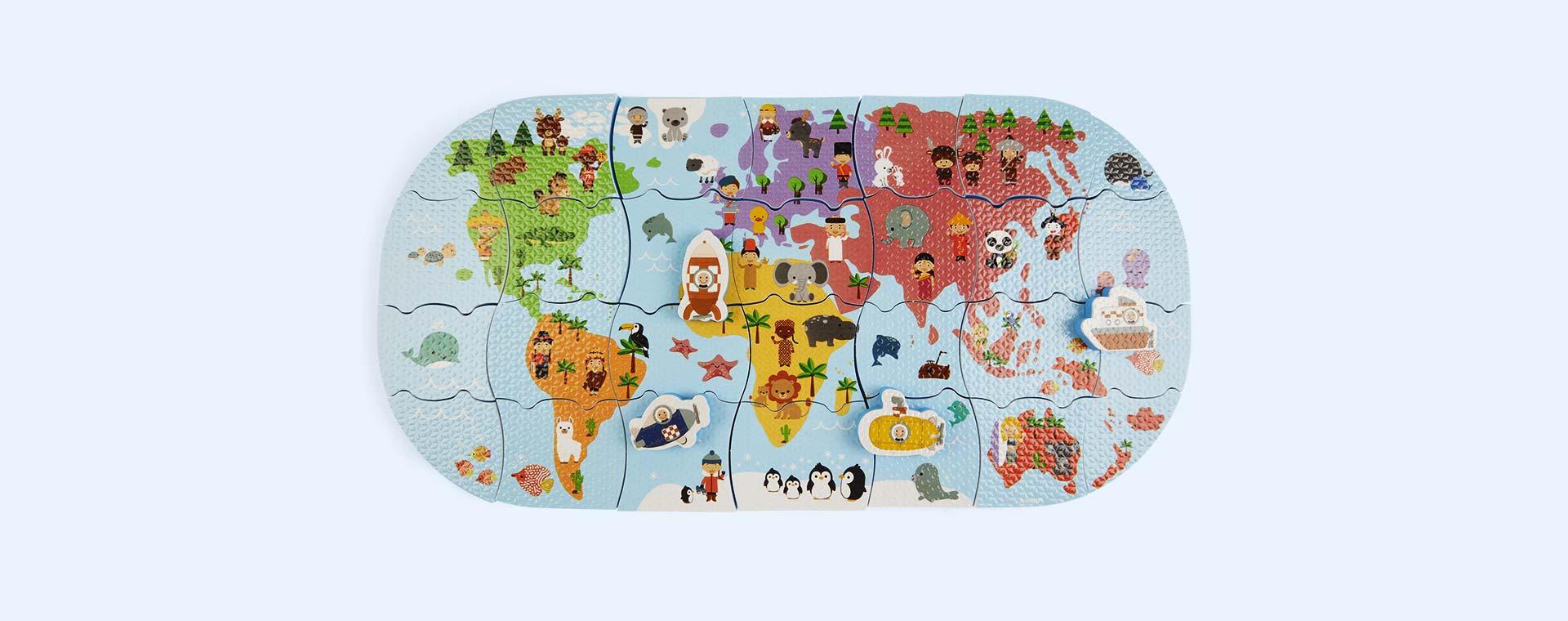 Multi Janod Bath Explorers Map