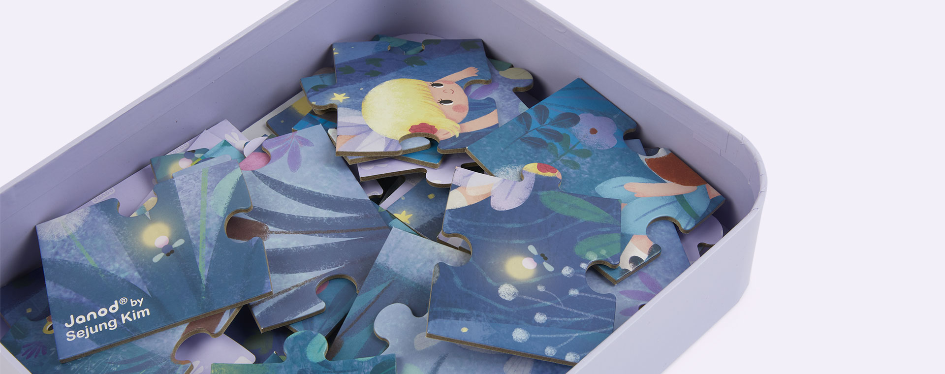 Multi Janod Fairies And Waterlilies Puzzle