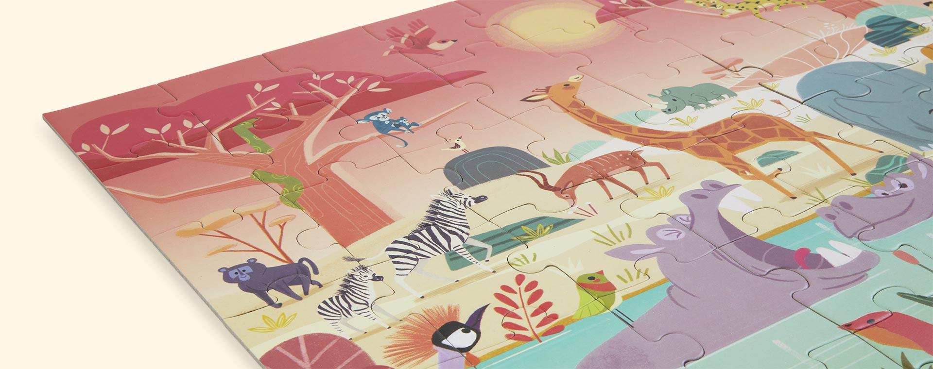 Multi Janod Puzzle Animal Reserve