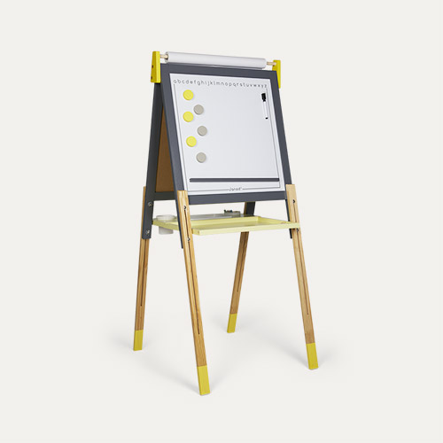 Grey/Yellow Janod Adjustable Easel