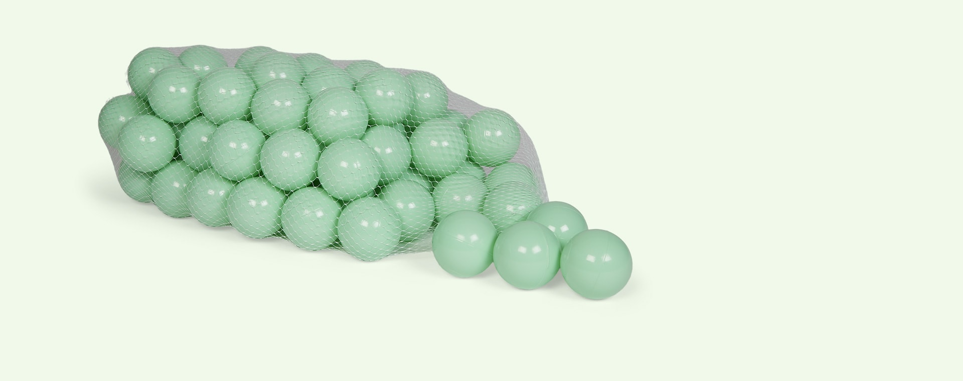 Mint Larisa and Pumpkin Ball Pit Balls