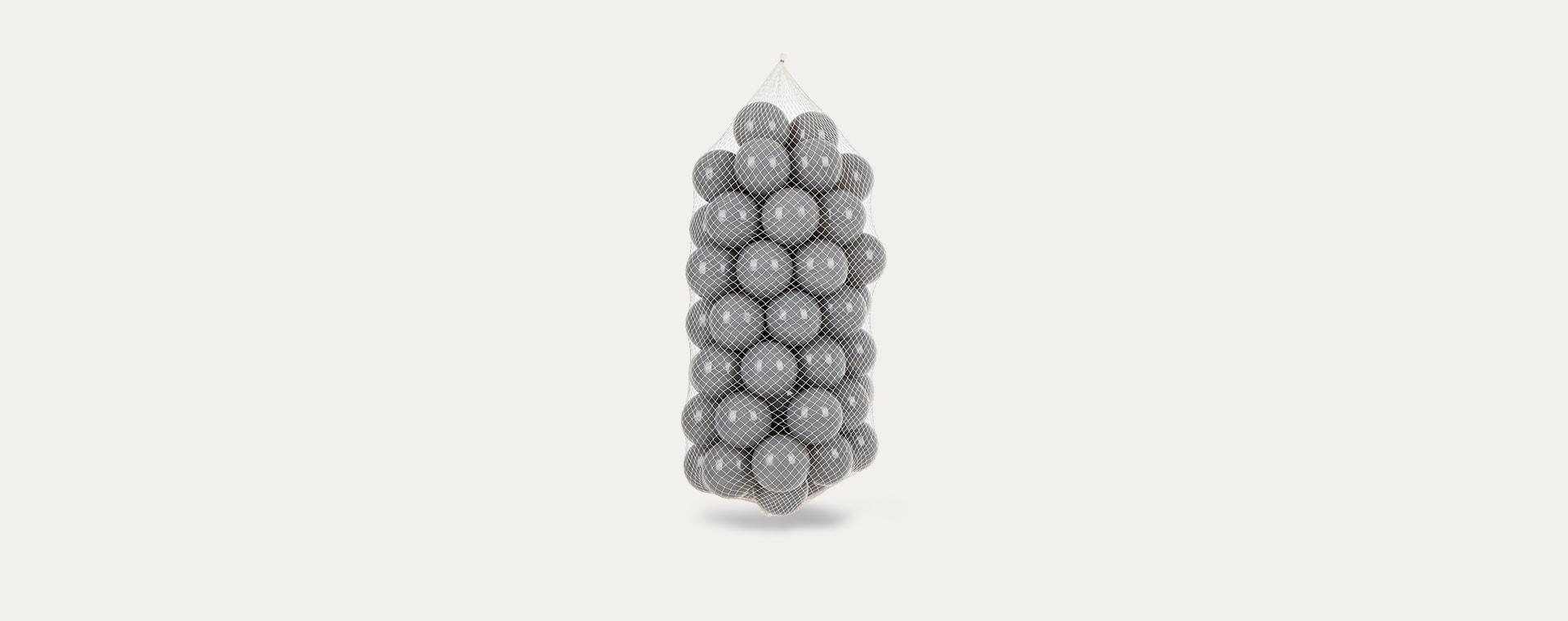 Grey Larisa and Pumpkin Ball Pit Balls