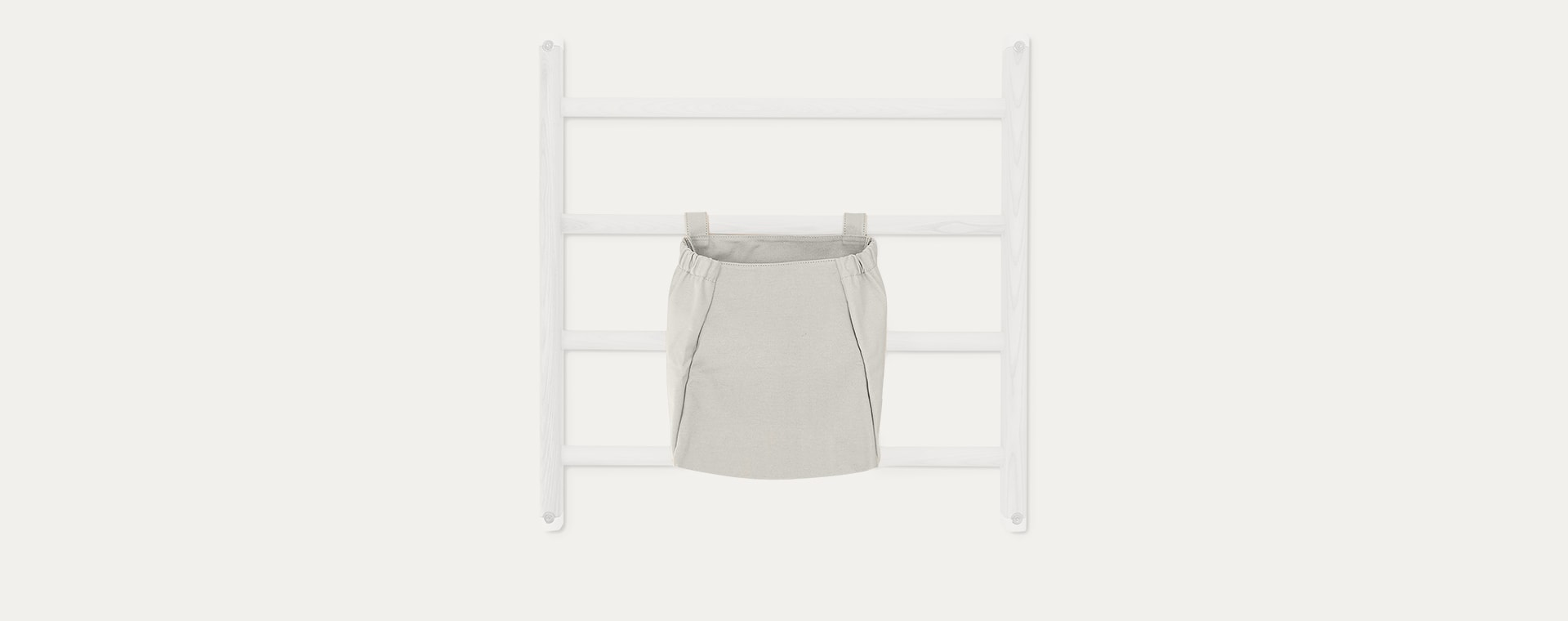 Light Grey KAOS Endeløs Canvas Storage Bag
