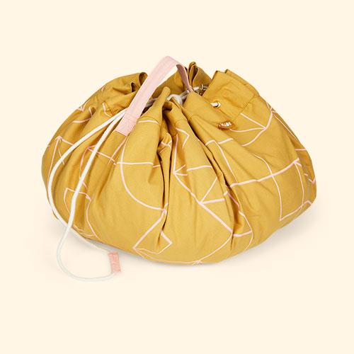 Mustard/Pink KAOS Playbag