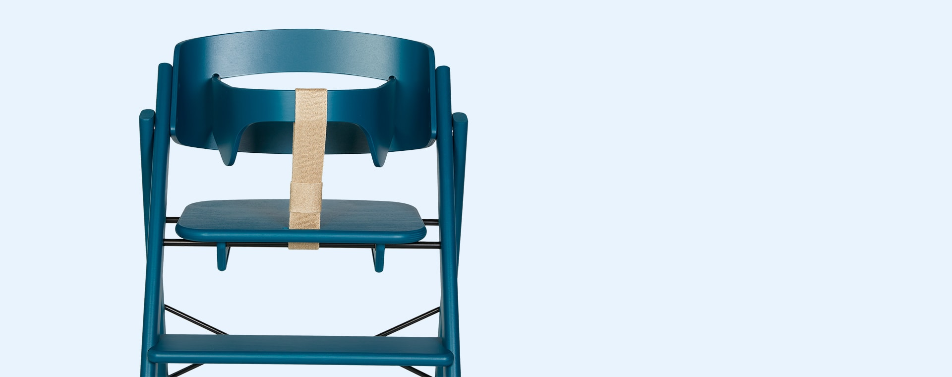 Petrol KAOS Foldable Highchair With Safety Rail
