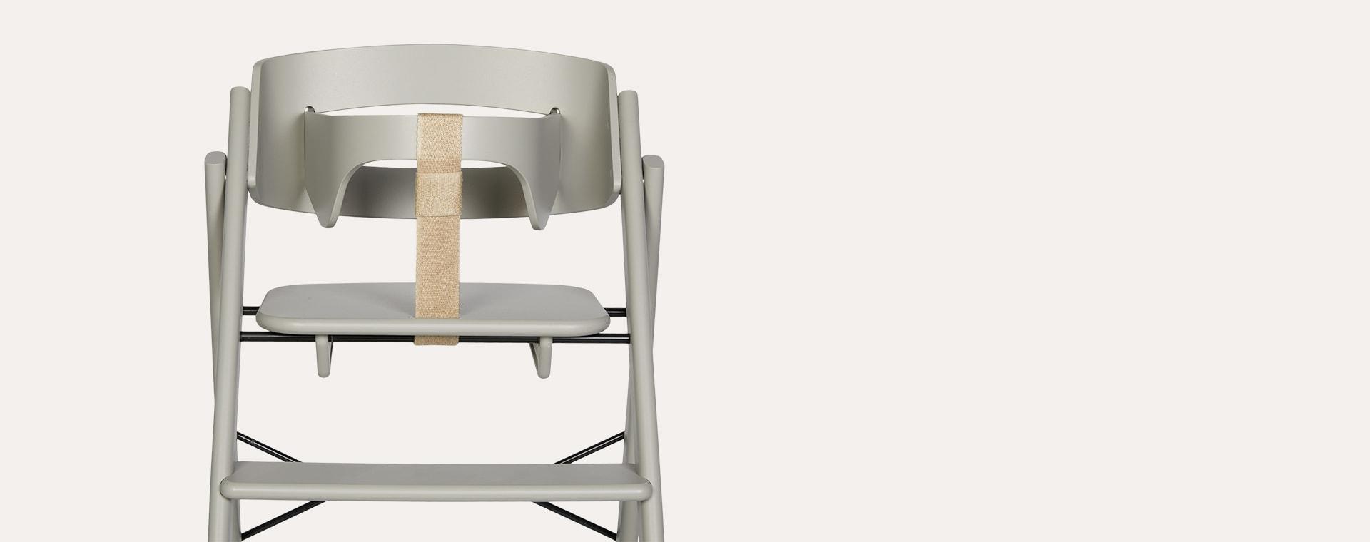 Grey KAOS Klapp Foldable Highchair With Safety Rail