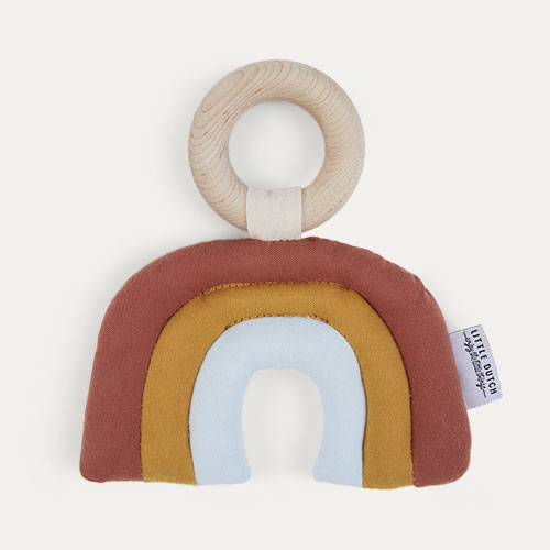 Multi Little Dutch Rainbow Rattle