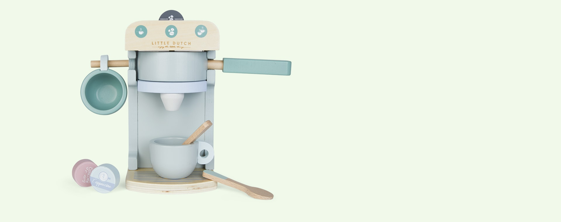 Mint Little Dutch Coffee Machine