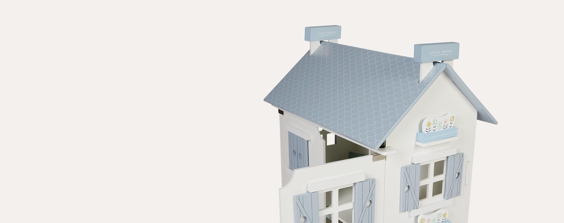White Little Dutch Dolls House