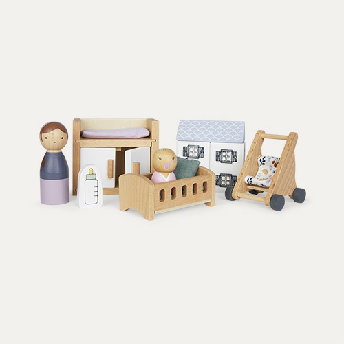 Multi Little Dutch Dolls House Nursery