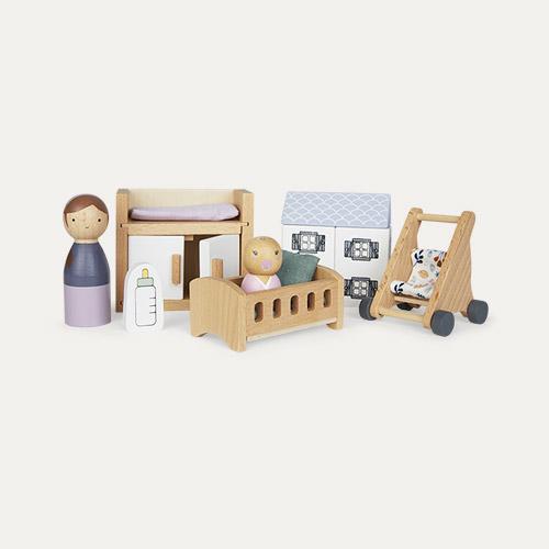 Multi Little Dutch Dolls House Nursery