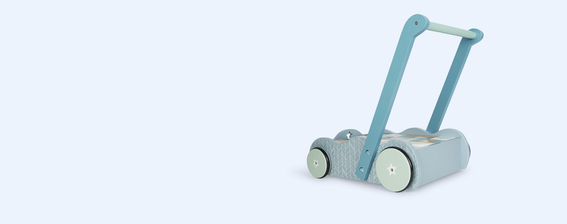 Blue Little Dutch Baby Walker