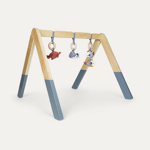 Blue Little Dutch Wooden Play Gym