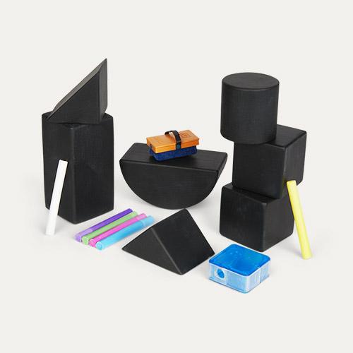 Black kitpas Tsumiki Block Set