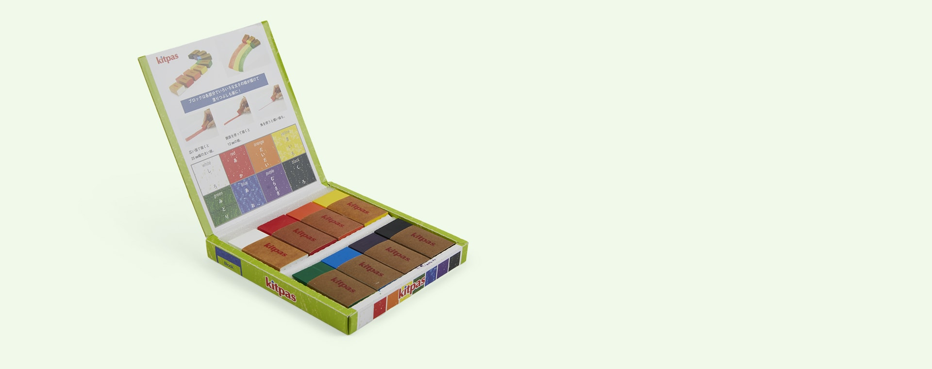 Multi kitpas Block 8 Crayons