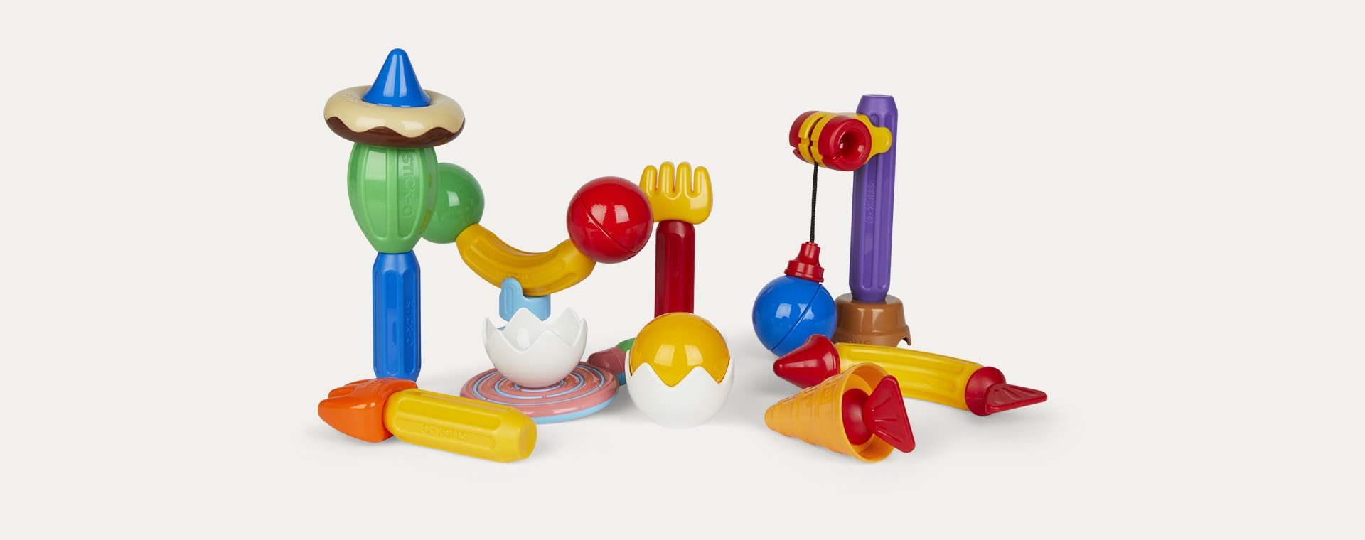 Multi Stick-O by Magformers Role Play Set