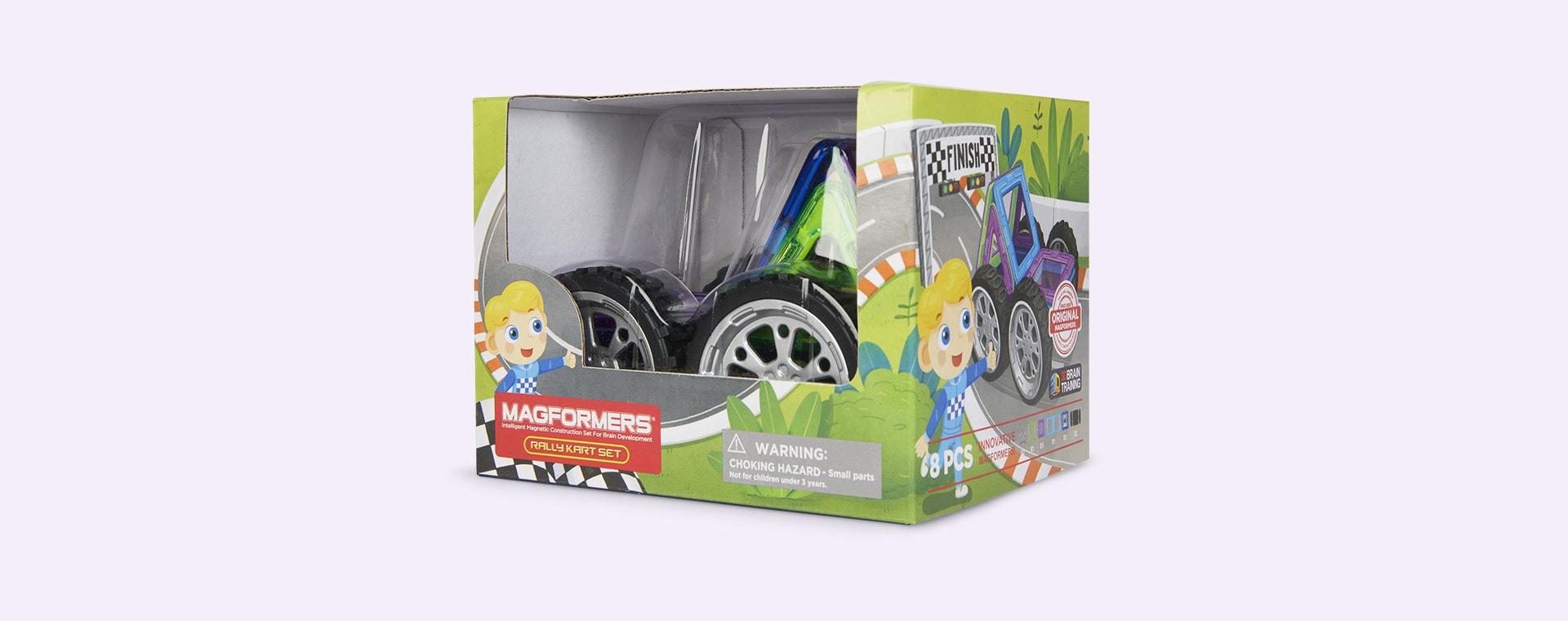 Multi Magformers Rally Kart Driver