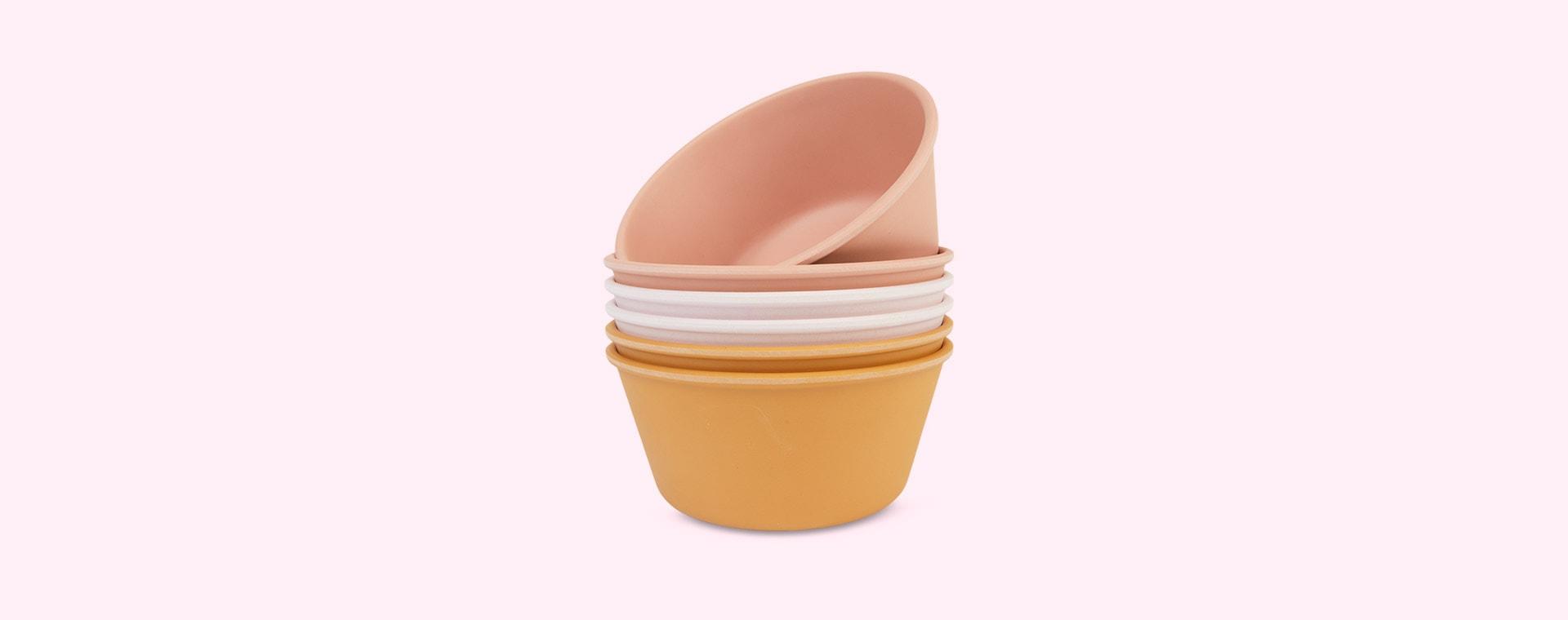 Rose Multi Mix Liewood Greta Bamboo Bowls