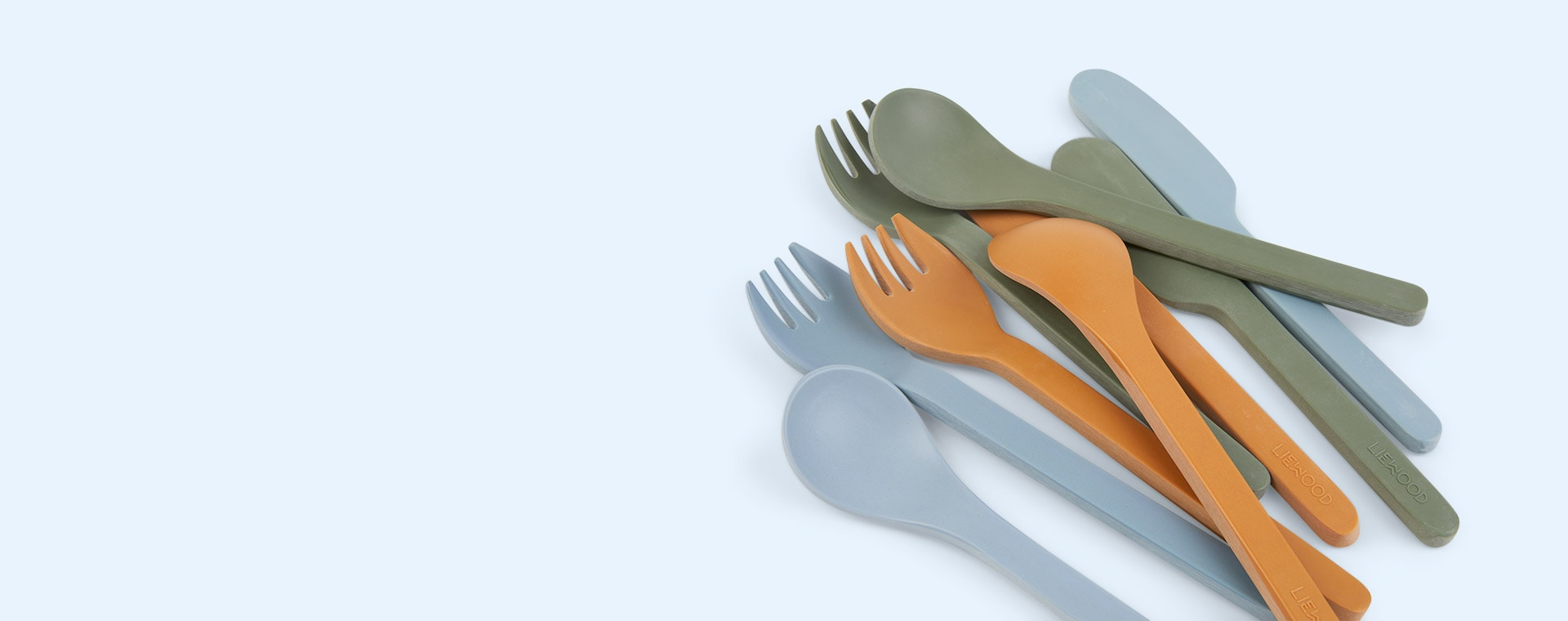Blue Multi Mix Liewood Frederikke Cutlery Set