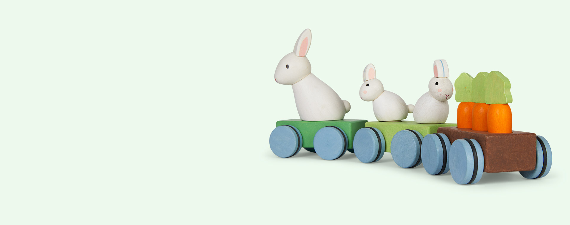 Multi Le Toy Van Bunny Train