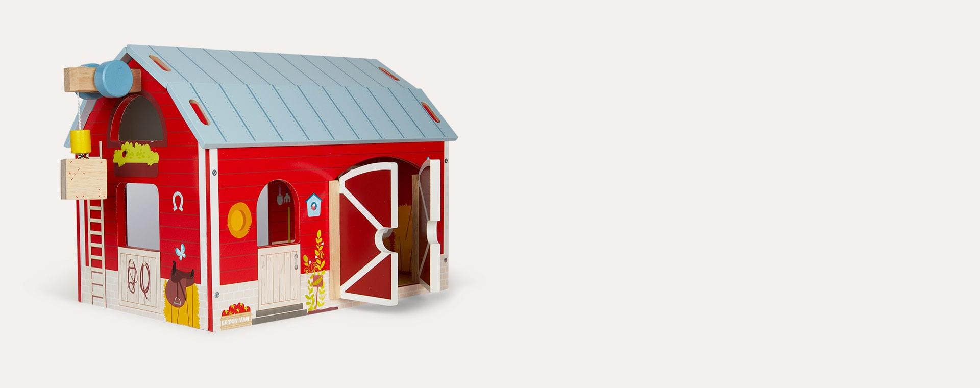 Multi Le Toy Van Red Barn