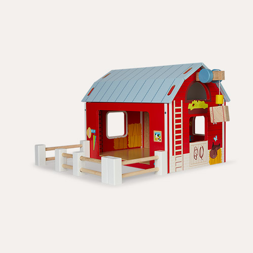 Multi Le Toy Van Red Barn