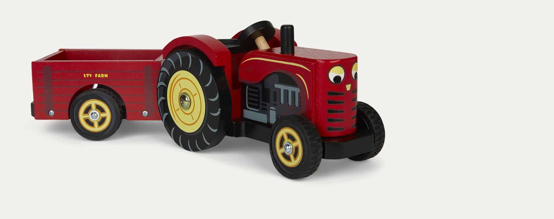Multi Le Toy Van Red Tractor