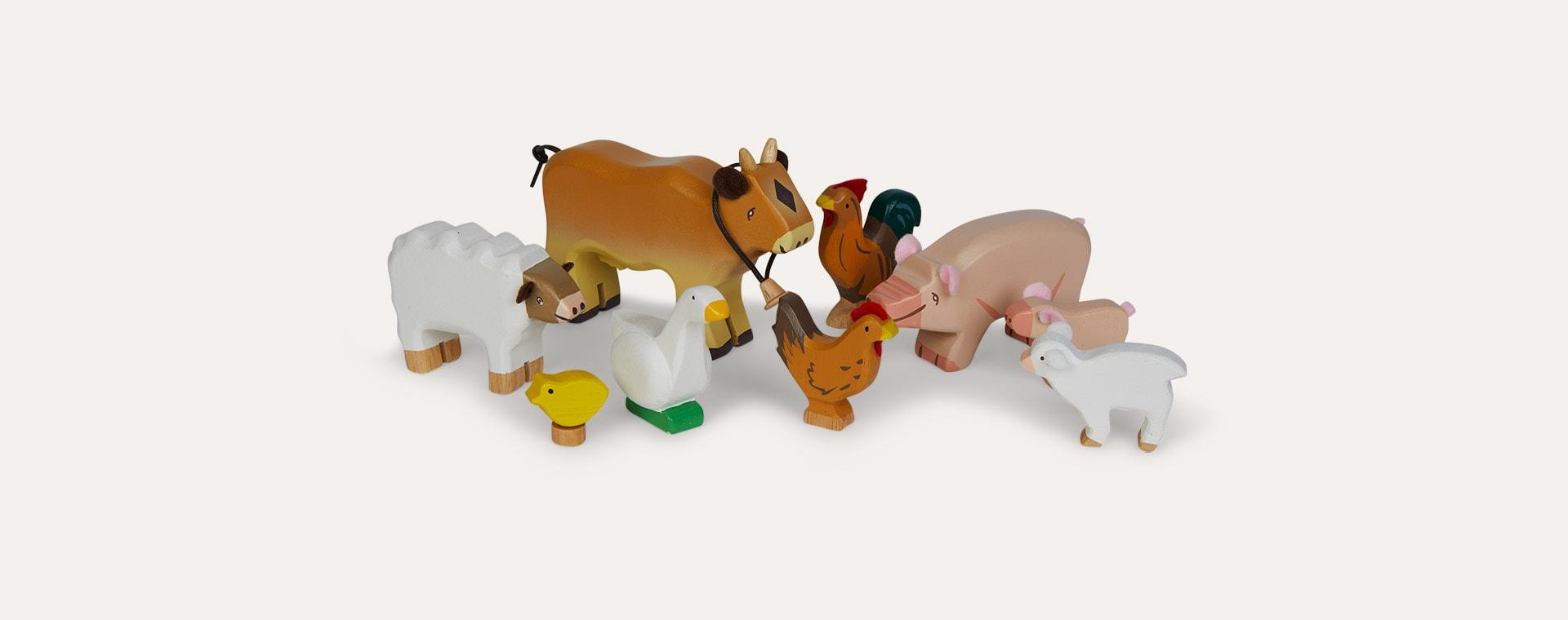 Multi Le Toy Van Sunny Farm Animal Set