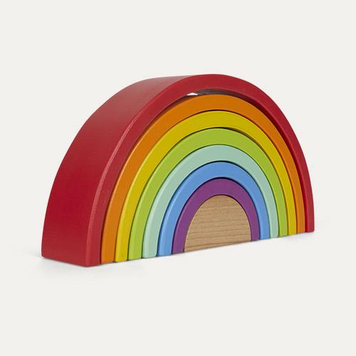 Multi Legler Wooden Rainbow