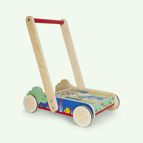Multi Legler Toys Building Blocks Baby Walker