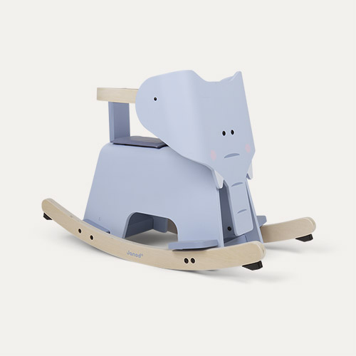 Multi Janod Rocking Elephant With Removable Protection