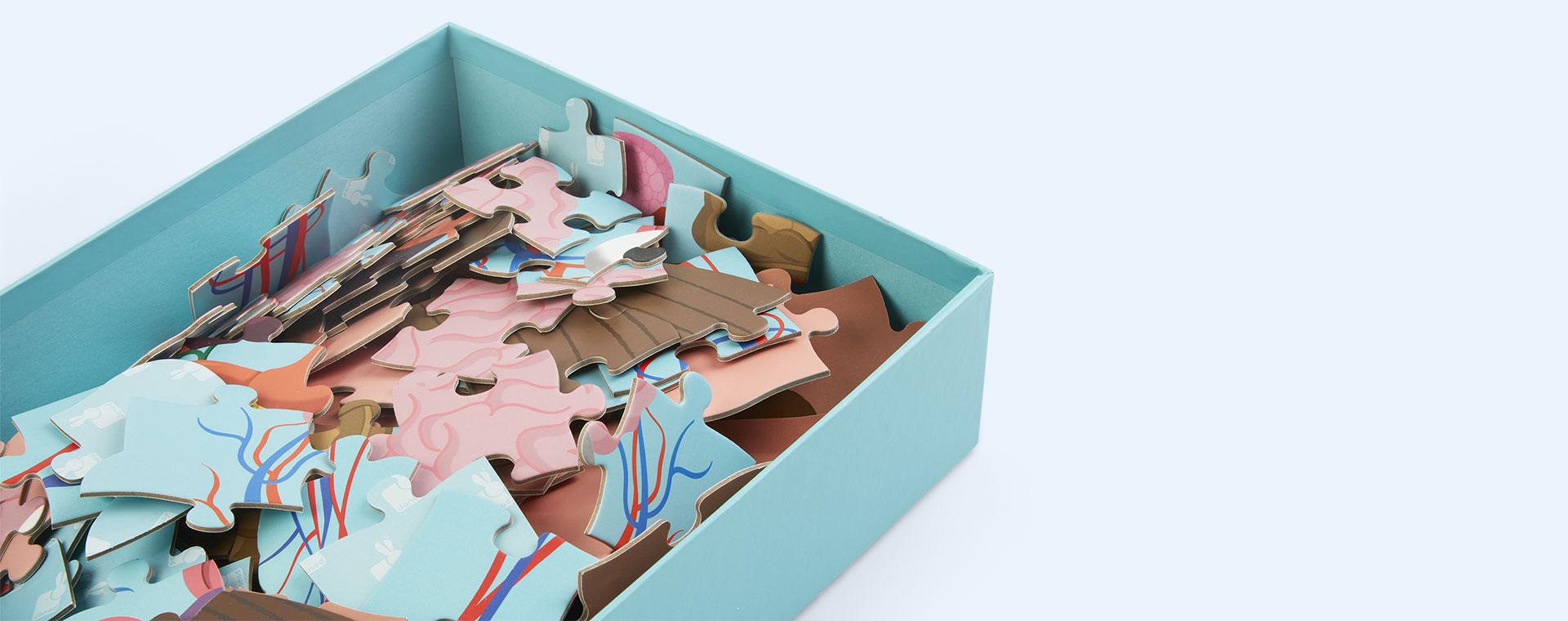 Multi Janod Educational Puzzle Human Body