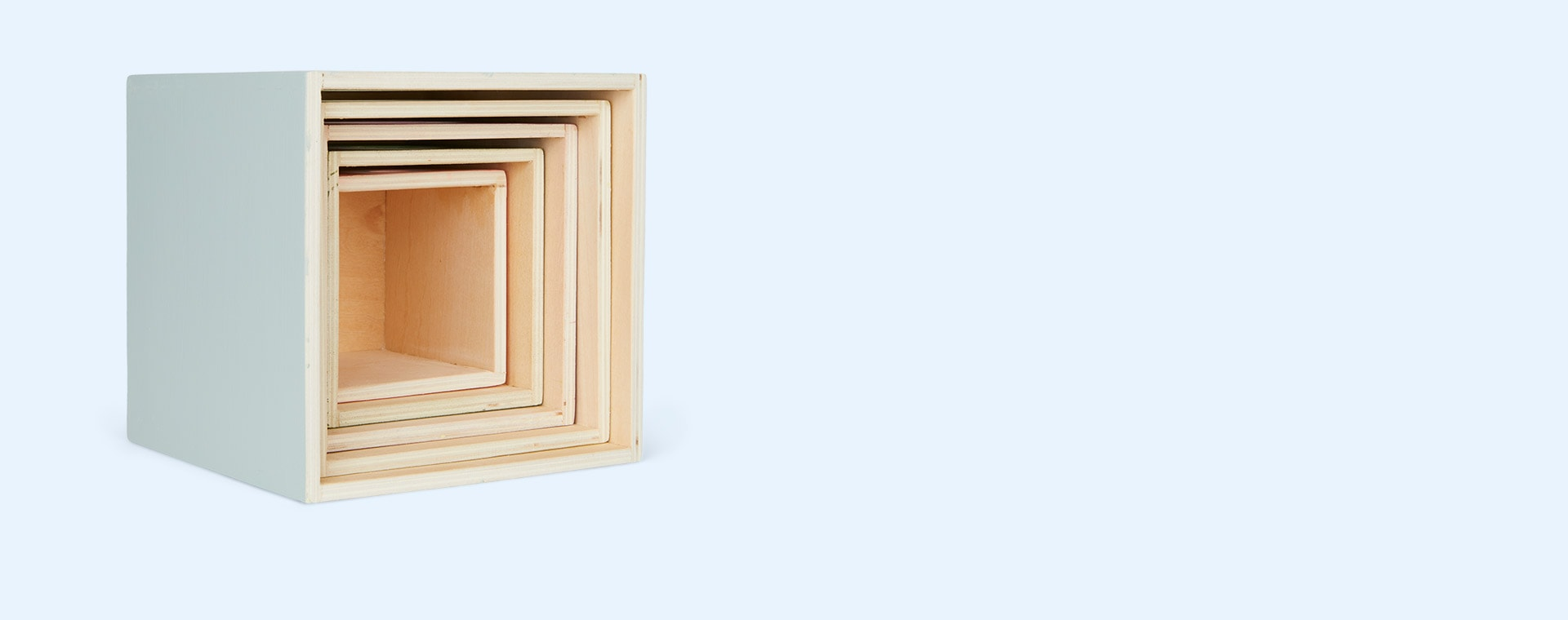 Multi Kid's Concept 5 Wooden Stacking Cubes