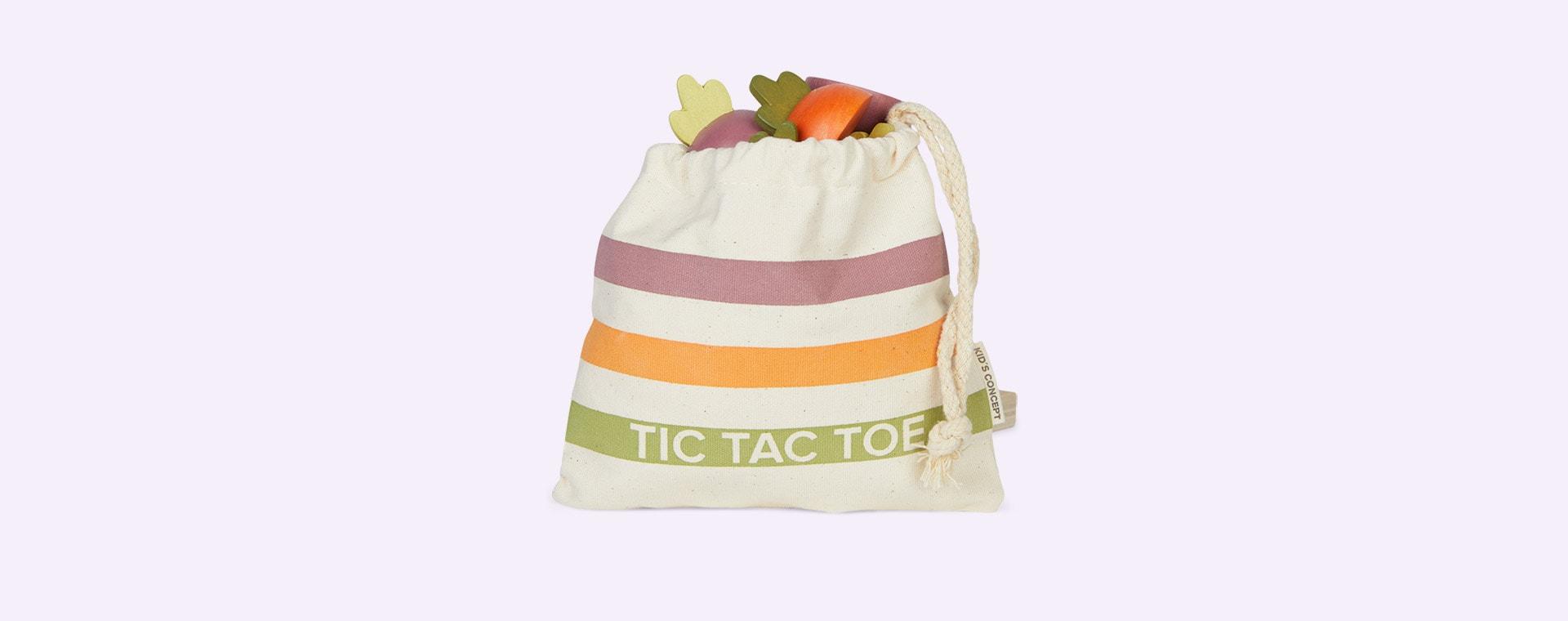 Multi Kid's Concept Tic Tac Toe Veggie Game