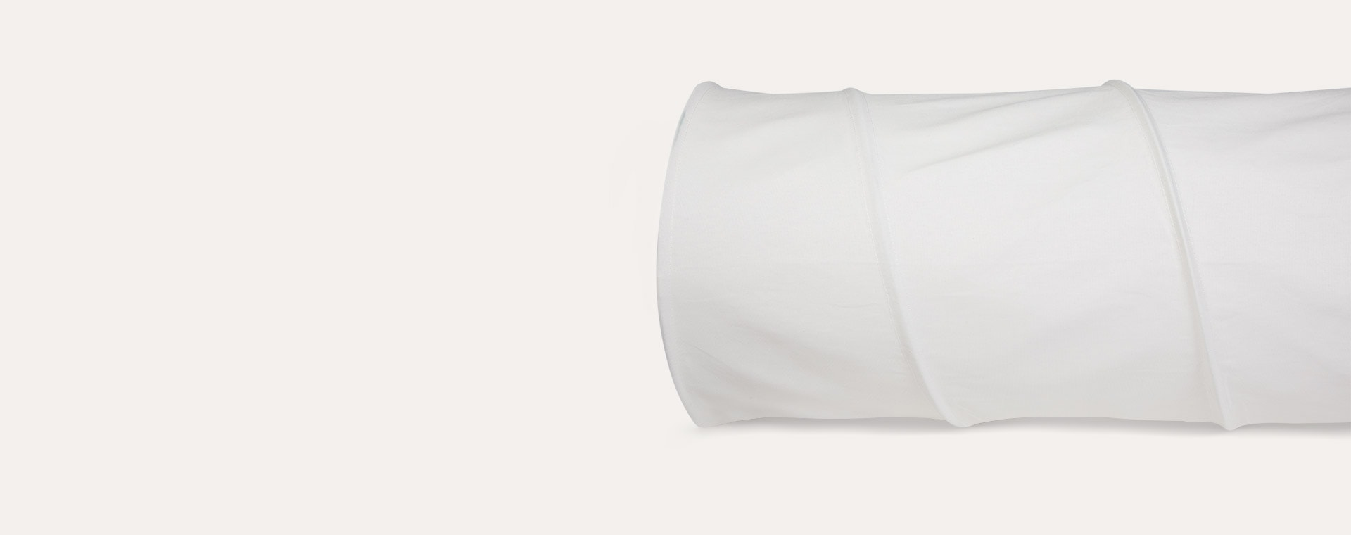 White Kid's Concept Cotton Play Tunnel