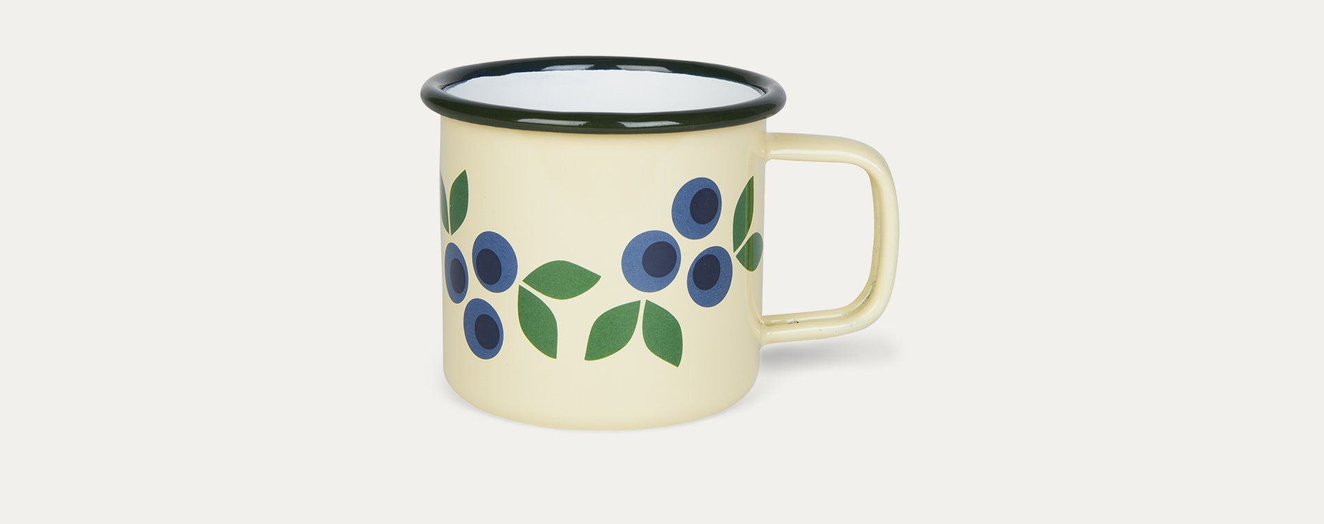 Blueberry Blafre Enamel Mug