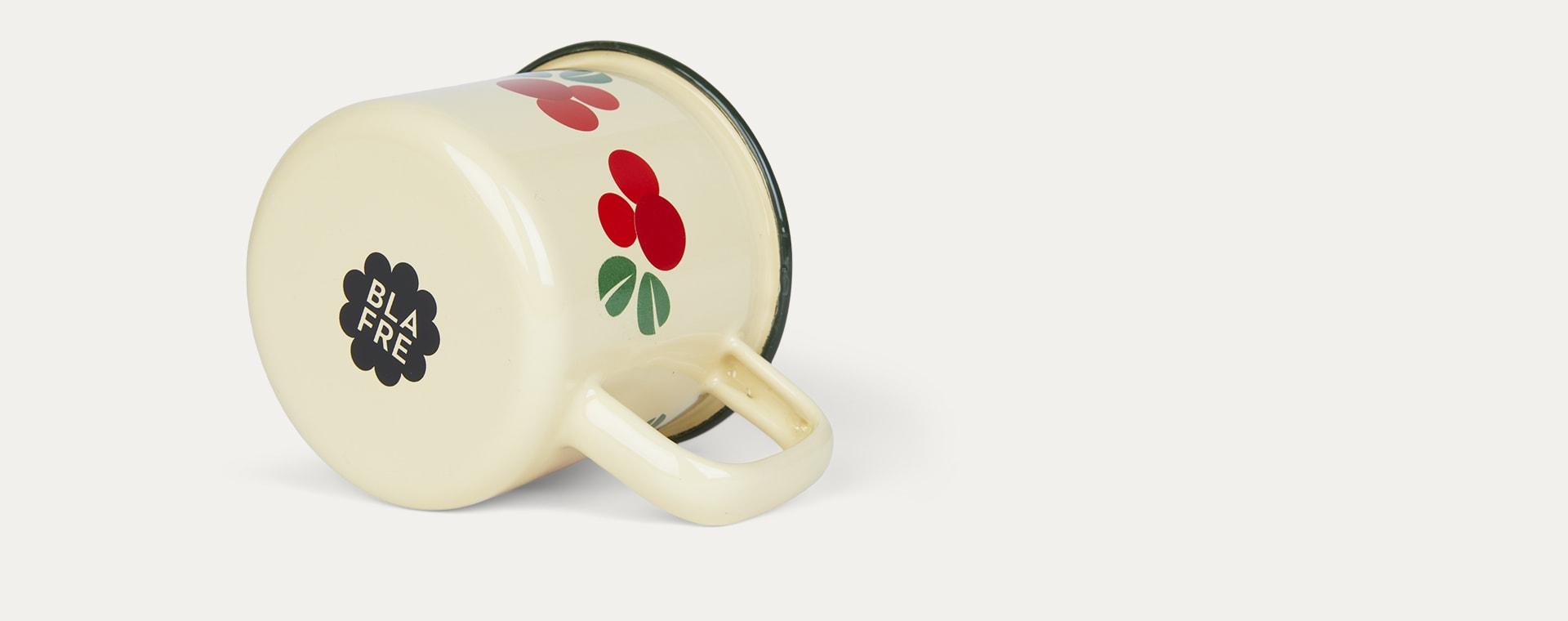 Cranberry Blafre Enamel Mug