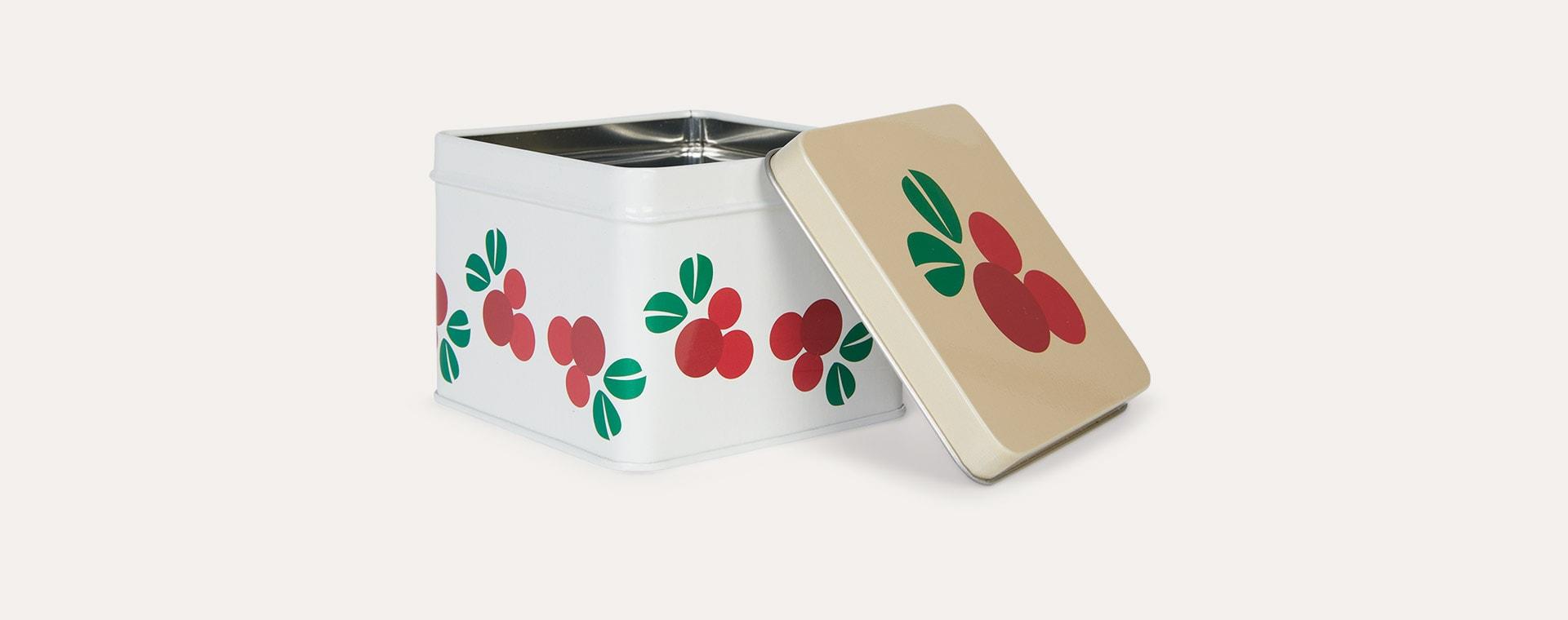 Cranberry Blafre Small Tin Box