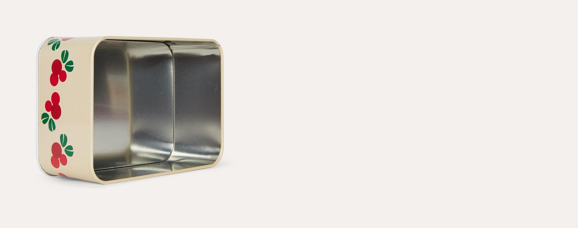 Cranberry Blafre Rectangular Tin Box