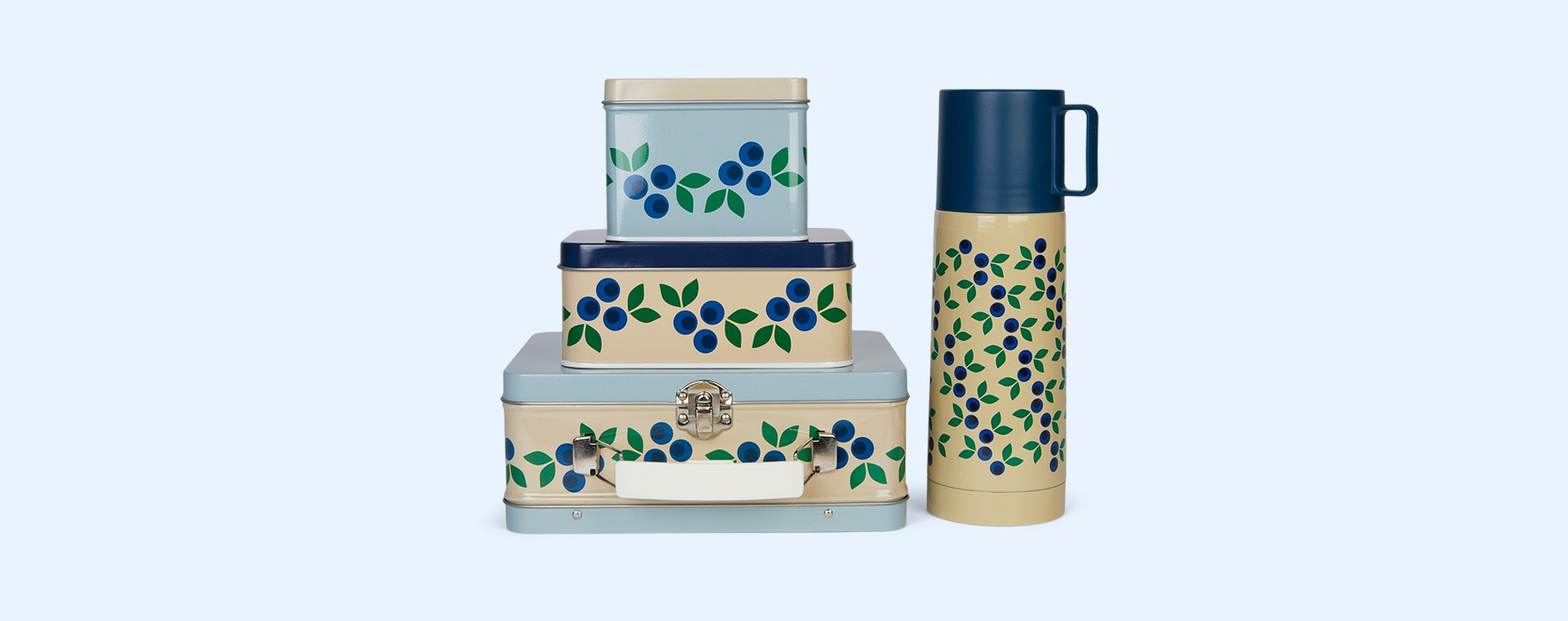 Blueberry Blafre Vacuum Flask