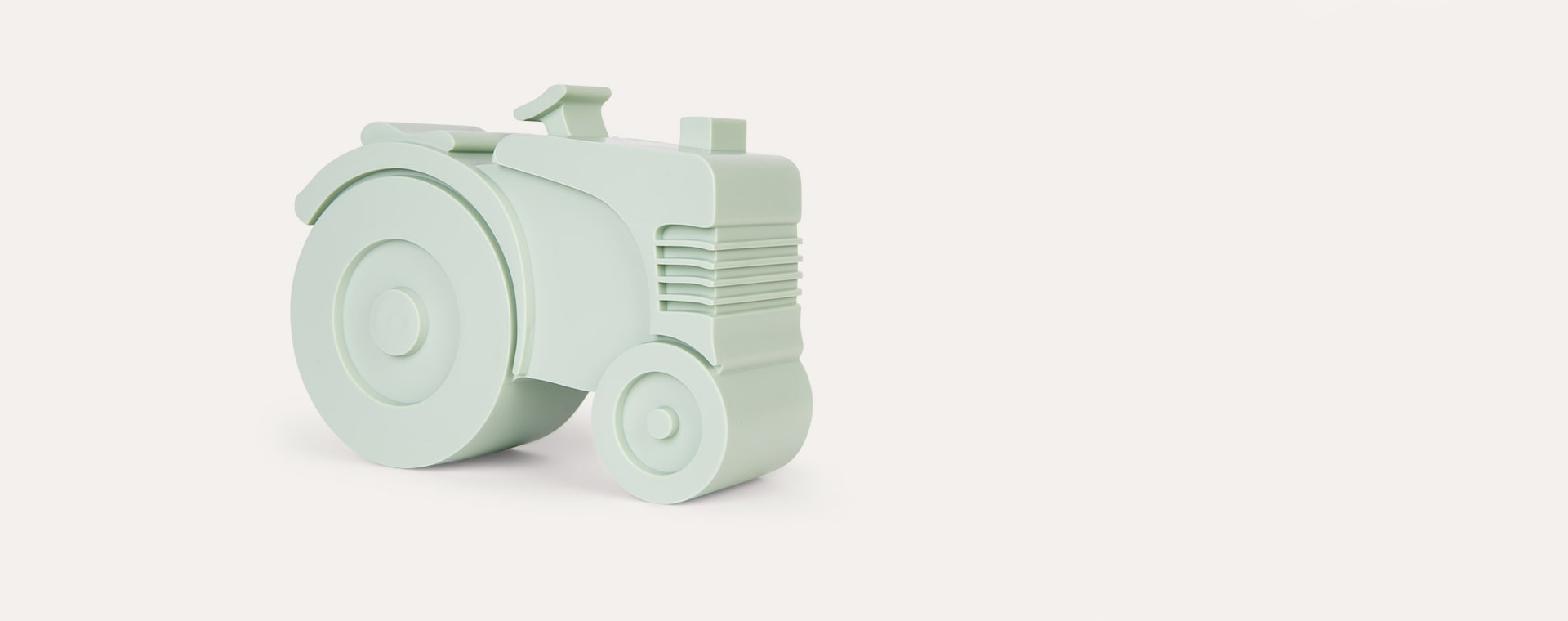 Light Green Blafre Tractor Lunch Box