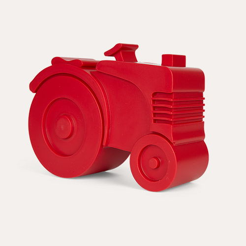 Red Blafre Tractor Lunch Box